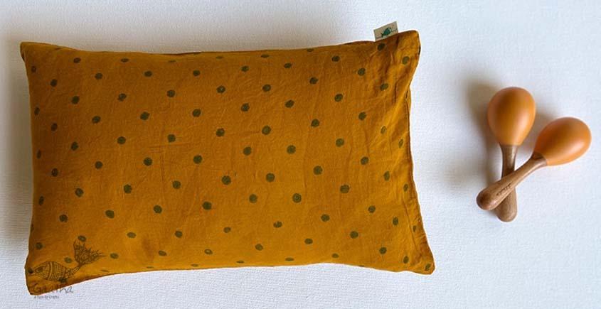shop Kids Gift Set (Raidana Print Kapok Pillow + Maracas)