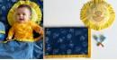shop Kids Organic Gift Set (Dohar + Mustard Seed Pillow + Maracas - Zoo)