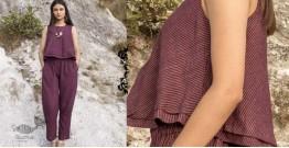 Wovhan ✠ Handloom Cotton Top & Bottom Set ✠ 29