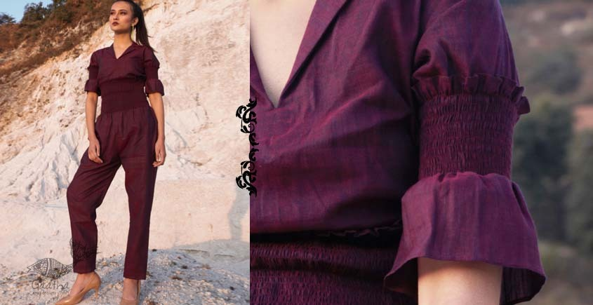 Wovhan ✠ Handloom Cotton  Jumpsuit ✠ 18