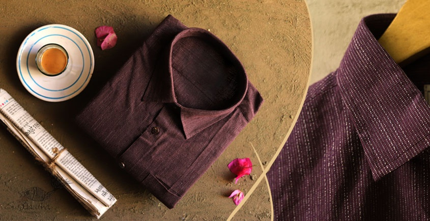 कनिष्क ♕ Handwoven Cotton Shirt ♕ 1