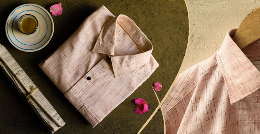 कनिष्क ♕ Handwoven Cotton Shirt ♕ 13