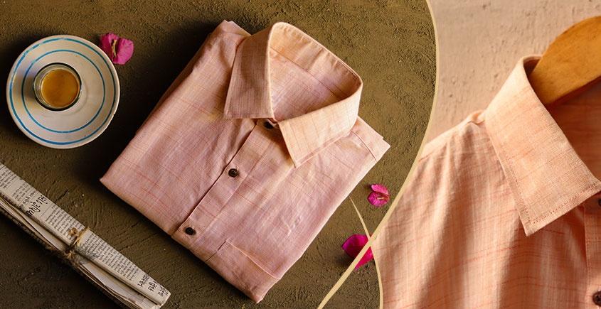 कनिष्क ♕ Handwoven Cotton Shirt ♕ 3