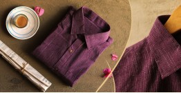कनिष्क ♕ Handwoven Cotton Shirt ♕ 4
