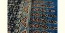 buy online cotton shibori with ajrakh printed pallu saree - Violate Bright Color