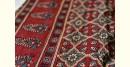 buy online cotton shibori with ajrakh printed pallu saree - Latest Design in blue color