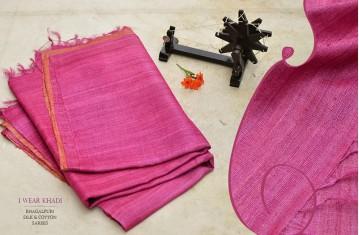 Wear Khadi . Bhagalpuri . Tussar & Khadi Silk Sarees.