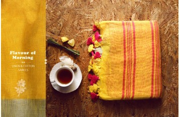 Flavour of Morning ✽ Linen & Cotton Sarees