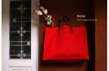 Bolsa ✽ Canvas Handbags & Pouches