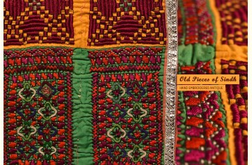Old Pieces of Sindh ❋ Hand Embroidered Antique