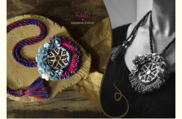 Kadō ❉ Handmade Designer Jewelry ❉ Necklace & Earring