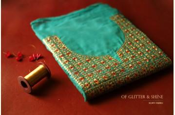 Of Glitter & Shine ✤ Kurti Fabric