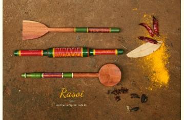 Rasoi ᴥ Lacquer work ~ Kutch