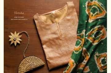 Varsha ☔ Silk Kurta with Dupatta