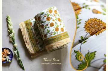 Thaat Baat ☃ Sanganeri . Jaipuri Razai