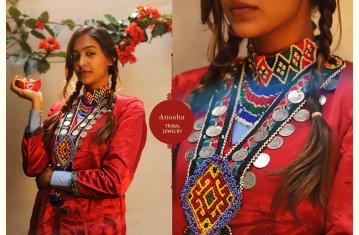 Anosha ✽ Tribal Jewelry ✽ Necklace & Earring