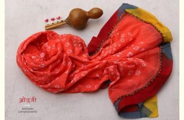 ओढ़नी ❈ Bandhani Cotton Dupatta