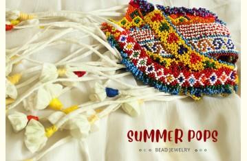 Summer Pops ❉ Bead Jewelry