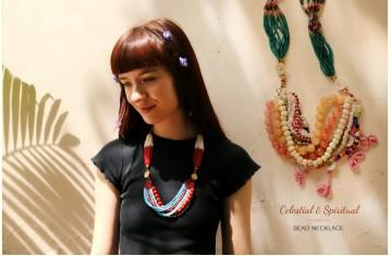 Celestial & Spiritual ❉ Bead Jewelry . Necklace