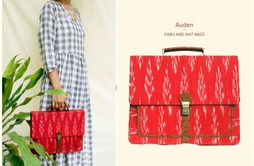 Auden ♦ Dabu Printed & Ikat Bags