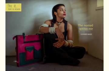 The nomad within me ♠ Kutchi Leather Bags