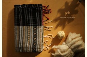 सूती ▦ Handloom Cotton Saree