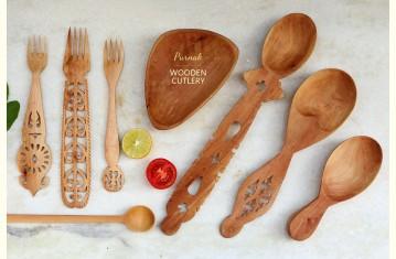 Purnak ✼ Udayagiri Wooden Cutlery