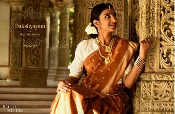 Dakshyayani - Ikat Silk Saree.