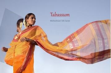 Tabassum - Maheshwari Silk Saree.