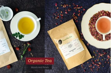 Organic Tea By Woods And Petals.