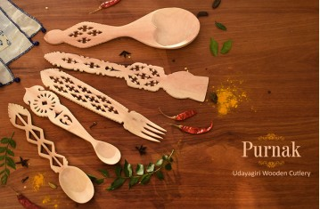 Purnak * Udayagiri Wooden Cutlery.