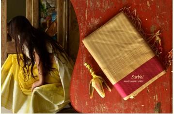 Surbhi . सुरभि ❢ Handloom Maheshwari Saree