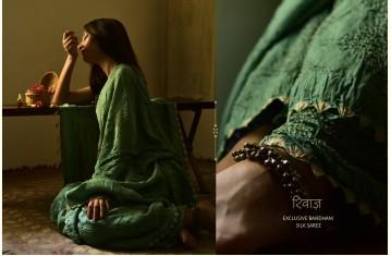 Rivaz . रिवाज़ ★ Bandhani & Ajrakh ★ Silk Sarees