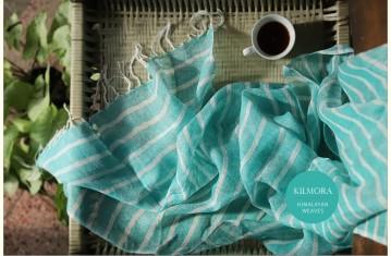 Kilmora ✜ Handloon Cotton, Linen & Woolen Stoles