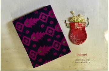 Indrani . इंद्राणी | Jamdani & Kantha Sarees & Dupatta