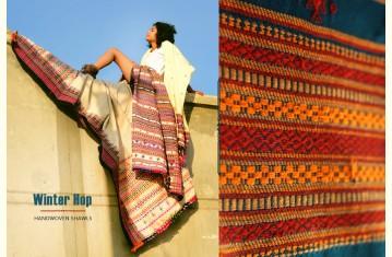 Winter Hop ⚹ Handwoven Woolen Shawls