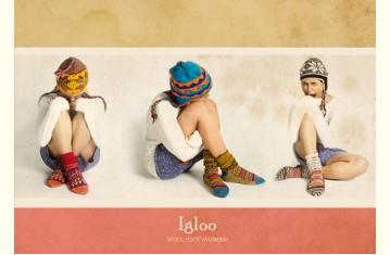 Igloo ☃ Wool Foot Warmers