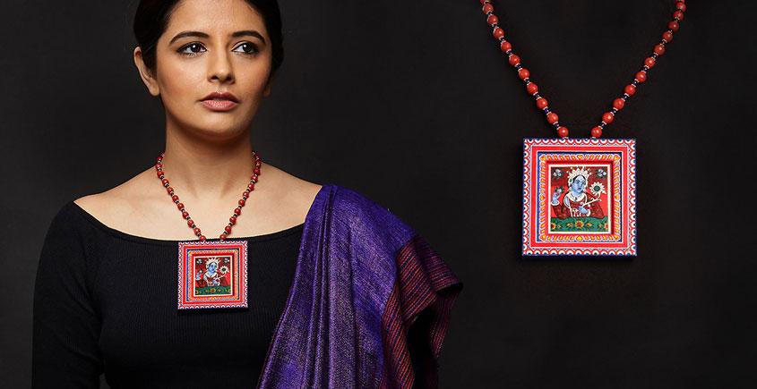 Razia Kunj ♥ Handcrafted Jewelry ♥ SHEKHAWATI NECKLACE   . A