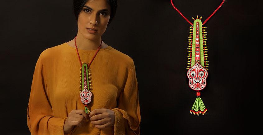 Razia Kunj ♥ Handcrafted Jewelry ♥ Theyyam . B