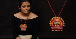 Razia Kunj ♥ Handcrafted Jewelry ♥ Theyyam . F
