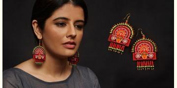 Razia Kunj ♥ Handcrafted Jewelry ♥ Theyyam Earring . I
