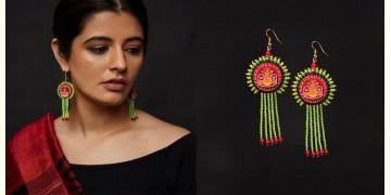 Razia Kunj ♥ Handcrafted Jewelry ♥ Theyyam Earring . J