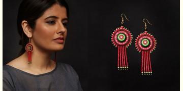 Razia Kunj ♥ Handcrafted Jewelry ♥ Theyyam Earring . N
