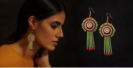 Razia Kunj ♥ Handcrafted Jewelry ♥ Theyyam Earring . O