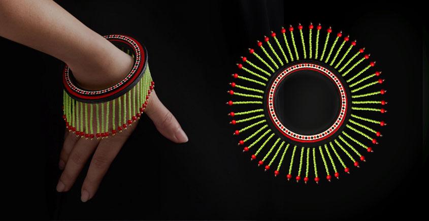 Razia Kunj ♥ Handcrafted Jewelry ♥ Theyyam . U