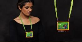 Razia Kunj ♥ Handcrafted Jewelry ♥ Temple Necklace . B
