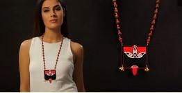 Razia Kunj ♥ Handcrafted Jewelry ♥ Temple Necklace . E
