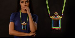 Razia Kunj ♥ Handcrafted Jewelry ♥ Temple Necklace . F