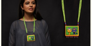 Razia Kunj ♥ Handcrafted Jewelry ♥ Temple Necklace . I