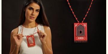 Razia Kunj ♥ Handcrafted Jewelry ♥ Jharoka Necklace . C